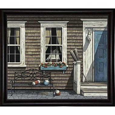 Breakwater Bay 'Nantucket' Graphic Art Print; Bistro Expresso Framed Paper