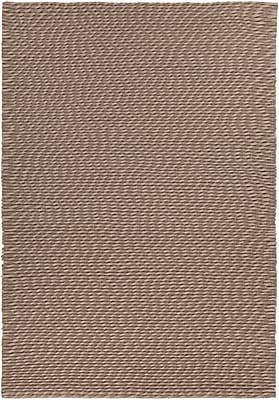 Orren Ellis Leff Hand-Woven Taupe Area Rug; 7'9'' x 10'6''