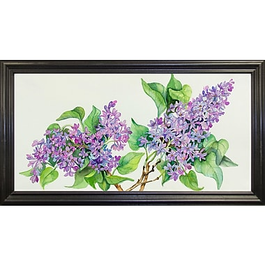 Ophelia & Co. 'Lilac Sprigs' Print; Rolled Canvas