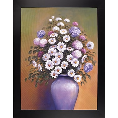 Ophelia & Co. 'Florals 1' Graphic Art Print; Black Wood Large Framed Paper