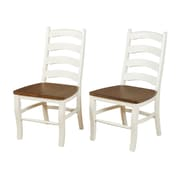 Ophelia & Co. Mack Solid Wood Dining Chair (Set of 2)