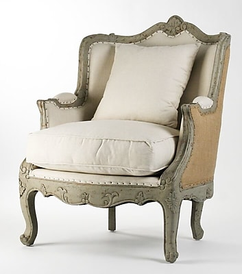 One Allium Way Fredrik Upholstered Wingback Chair