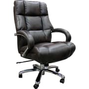 Loon Peak Heldt Heavy Duty Executive Desk Chair; Cafe