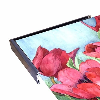 Winston Porter 'Red Tulips' Print; Rolled Canvas