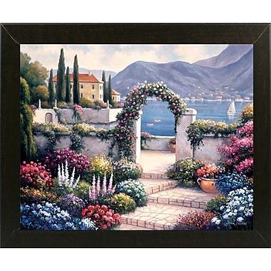 Fleur De Lis Living 'Mediterranean Scene A' Graphic Art Print