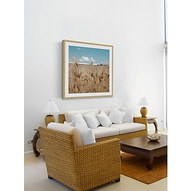 Union Rustic 'Waves of Grain' Framed Photographic Print On Paper; 32'' H x 32'' W