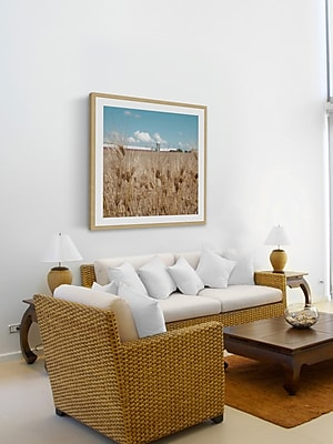 Union Rustic 'Waves of Grain' Framed Photographic Print On Paper; 24'' H x 24'' W