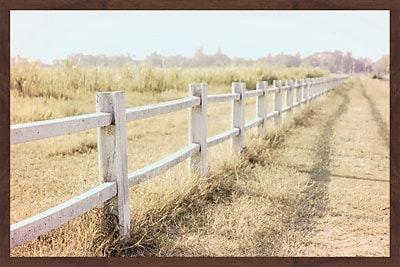 Union Rustic 'Endless Field' Framed Photographic Print On Paper; 12'' H x 18'' W