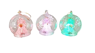 The Holiday Aisle Glass Angel Figure Ornament WYF078282250922