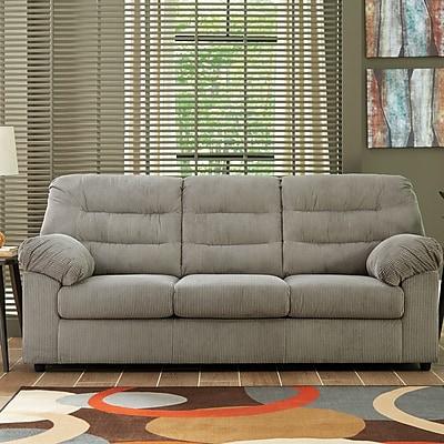 Winston Porter Brierwood Full Sleeper Sofa; Gray