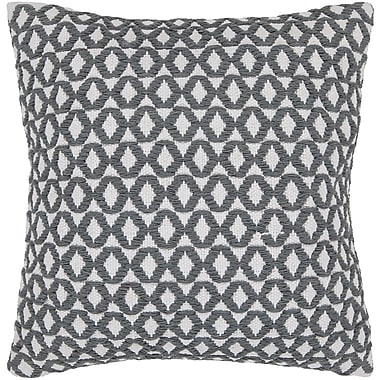 Corrigan Studio Dontae Geometric Contemporary Throw Pillow; 22'' H x 22'' W