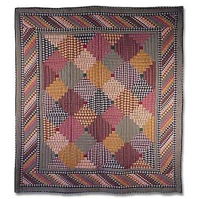 Loon Peak Aubagne Cotton Quilt; King