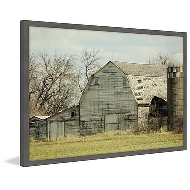 August Grove 'Barn Profile' Framed Photographic Print On Paper; 12'' H x 18'' W