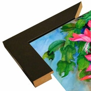 Bay Isle Home 'Christmas Cactus' Print; Rolled Canvas