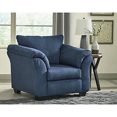 Alcott Hill Sagamore Armchair; Blue