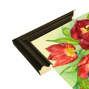 Alcott Hill 'Double Red Tulips' Print; Paper