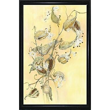 Alcott Hill 'Milkweed' Graphic Art Print; Flat Back Metal Framed