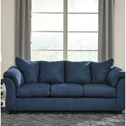 Alcott Hill Sagamore Sofa; Blue