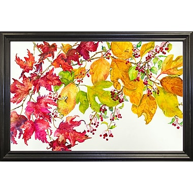 August Grove 'Fall Color' Print; Paper