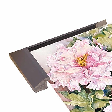 August Grove 'Peonies 2' Print; Rolled Canvas