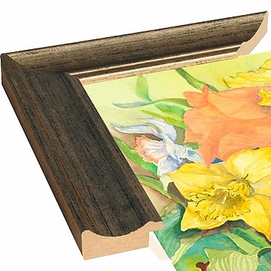 August Grove 'Peach Tulips & Daffodils' Print; Rolled Canvas