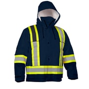 Forcefield 4-In-1 Safety Parka, Navy Ripstop