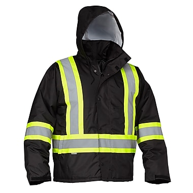 Forcefield Safety Drivers Jacket, Black, XL (024-EN610BK-X)