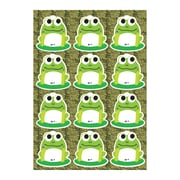 "Ashley® Die Cut Magnet Sheet, 8.5"" x 0.2"", Frogs, 12/Pack (ASH10101)"