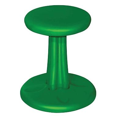Kore - Chaise oscillante en plastique, vert (KD-115)