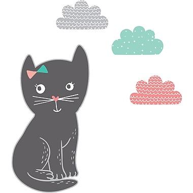 South Shore DreamIt Black Night Garden Little Cat Wall Decals (100087)