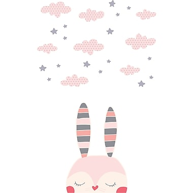 South Shore DreamIt Pink Doudou the rabbit Wall Decals (100102)