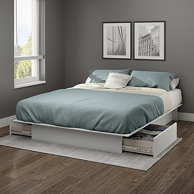 South Shore Step One Full/Queen Platform Bed 54/60