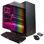 CyberPowerPC - PC de table Gamer Supreme Liquid Cool SLC8780CPG, Intel Core i7-8700K 3,7GHz, DD 3 To, DDR4 32Go, Win 10 Famille