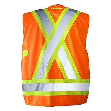 Terra – Veste d'arpenteur, orange, grand (116522ORL)