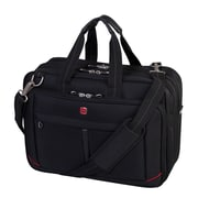 "Swiss Gear 17.3"" Deluxe Laptop Bag, Black (SWA0918)"