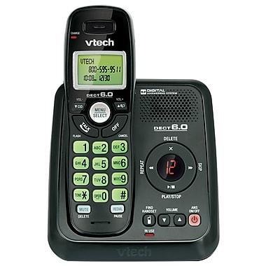 VTech - Système téléphonique CS6124-11 DECT 6.0 sans fil, 1 combiné, avec répondeur