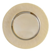 Elegance Luster Gold Chargers, Set of 4