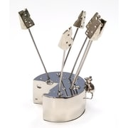 Elegance Mice Cheese Picks Holder with 6 Picks