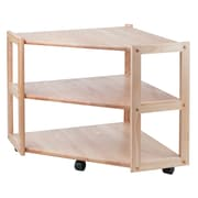 Winsome Derby Wood Corner TV Stand, Beech