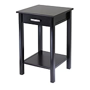 """Winsome Liso Composite Wood End Table/Printer Table, Dark Espresso, 31.1""""H x 20 1/2""""W x 20 1/2""""D"""