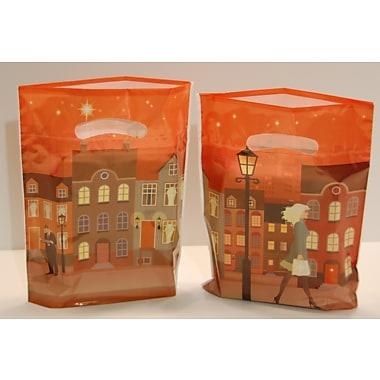 Marlo Packaging ? Sacs DesignSaks de 9 x 11,5 x 2 po, imprimé Boulevard, 500/paquet