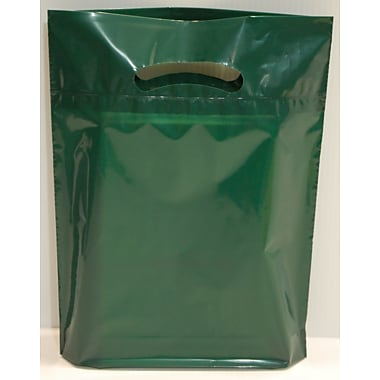 Marlo Packaging 20 x 23 x 5 Forest Green D/C Bag, Biodegradable, 500/Pack