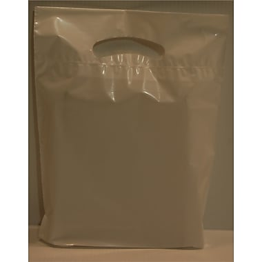Marlo Packaging 9 x 11.5 x 2 White D/C Bag, Biodegradable, 500/Pack