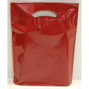 Marlo Packaging 12 x 16 x 3 Burgundy D/C Bag, Biodegradable, 500/Pack
