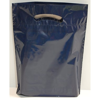 Marlo Packaging 12 x 16 x 3 Navy D/C Bag, Biodegradable, 500/Pack