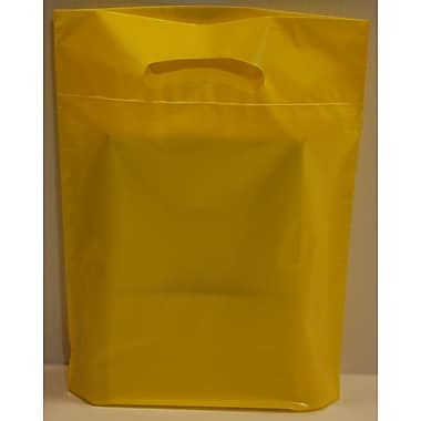 Marlo Packaging ? Sac biodégradable 16 x 18 x 4, jaune D/C, 500/paquet