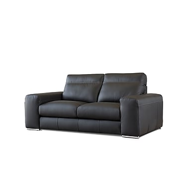 Losbu Toscana 2-Seater 2-Seat Sofa (TOS2-HILBLAC)