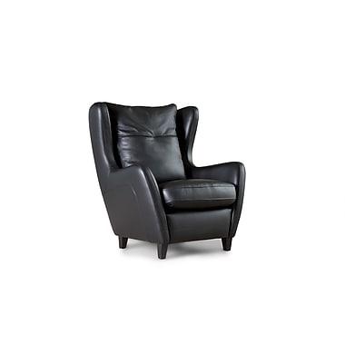 Losbu Juno Elegant Black Accent Chair (JUN1-ELEBLA)