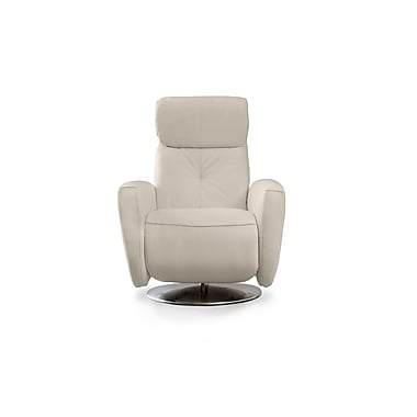 Losbu Lynk White Manual Swivel Chair (LYNSC-ELEWHI)