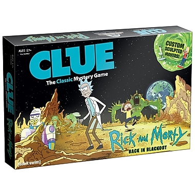 Jeu de société Clue, version Rick and Morty (MONCL085434)